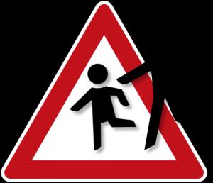 Zeichen_Vorsicht_spielende_Kinder