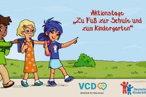 AKTIONSTAGE – Zu Fuß zur Schule und zum Kindergarten