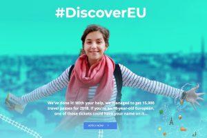 #DiscoverEU: EU-Kommission verschenkt Interrail-Tickets
