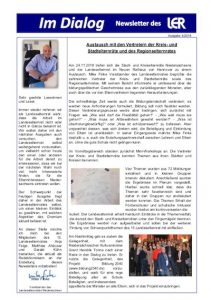 Cover des LER Newsletters