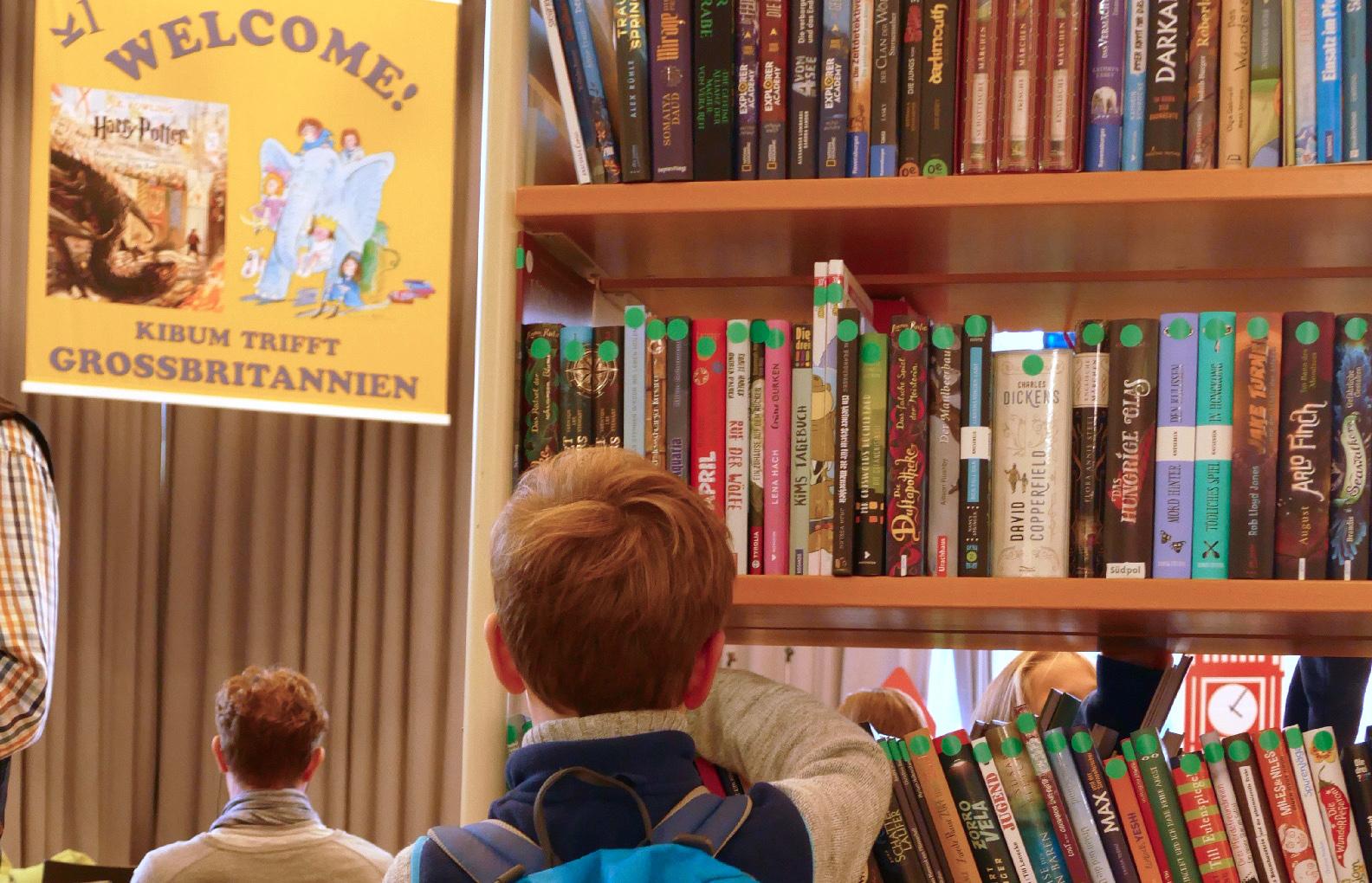Die KIBUM und das Vorlesen